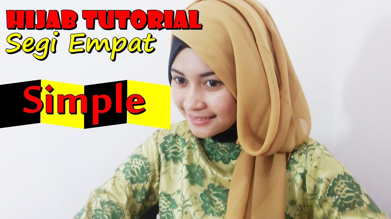 Tutorial Hijab Paris Segi Empat By Nica 184 YouTube