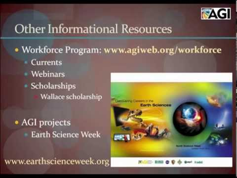 Careers in the Geosciences