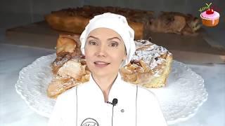 Популярный ЯБЛОЧНЫЙ Пирог 🍏 ПРОСТОЙ, вкусный ЦВЕТАЕВСКИЙ яблочный пирог 🍏 Рецепт пирога с яблоками