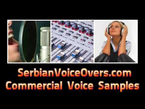 Serbian voice over talents🎤 TV commercial Voice Artist Samples  🎤 Radio Ads
