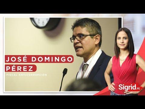 Entrevista con el fiscal José Domingo Pérez | Sigrid.PE