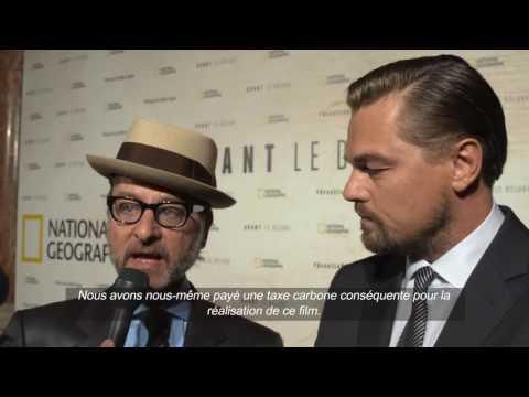Avant le Déluge - Interview Leonardo DiCaprio & Fisher Stevens