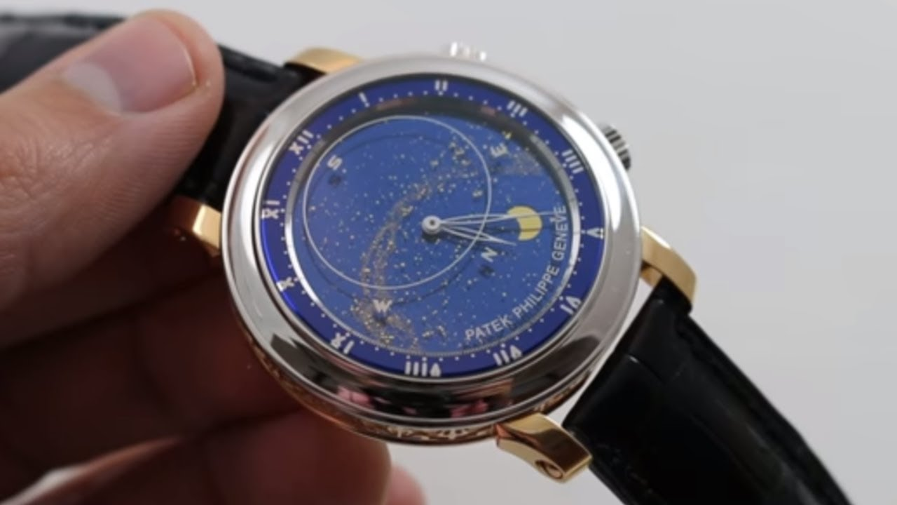 56e78e19280 Patek Philippe Grand Complications Sky Moon Celestial 5102PR Watch Review