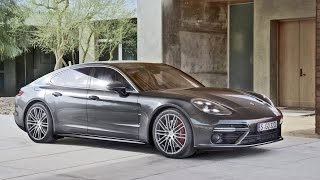 2017 Porsche Panamera Turbo - Official Video(Visually, the unique concept of this large Porsche is reflected in a new expressive design: unmistakably a Panamera, unmistakably a sports car – with long, ..., 2016-06-28T19:31:56.000Z)
