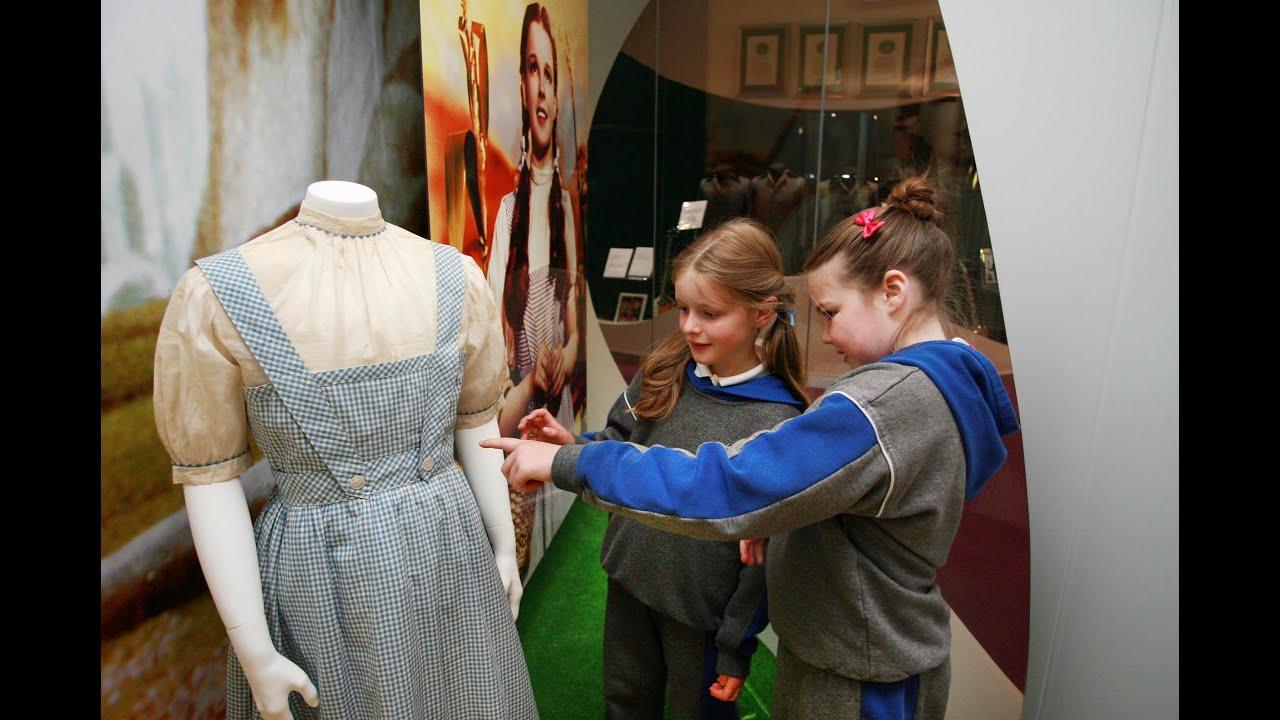 Original Costumes.Judy Garland S Original Wizard Of Oz Costume In Ireland