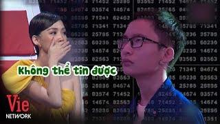 Tóc Tiên không tin vào mắt mình trước thử thách KHÓ SIÊU CẤP | SIÊU TRÍ TUỆ (The Brain Vietnam)