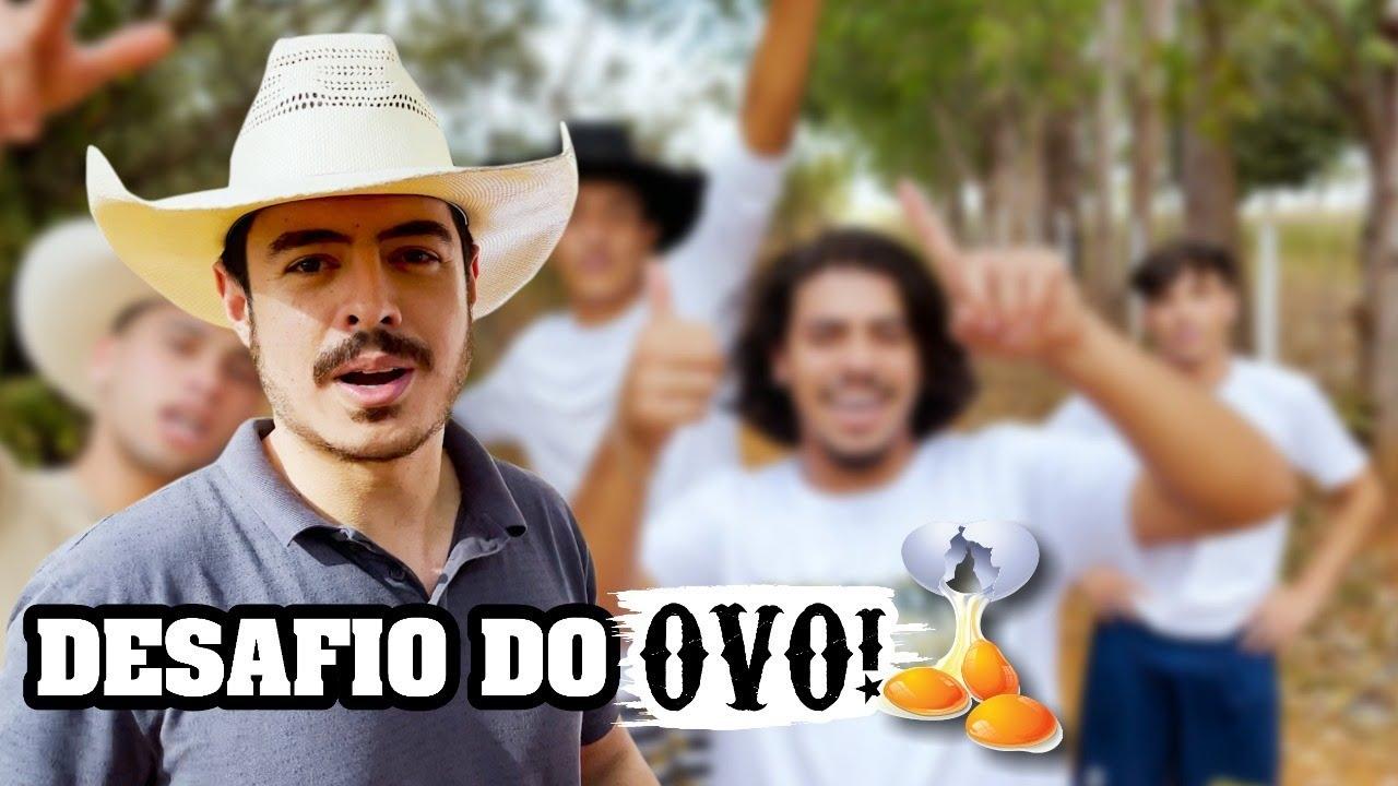 DESAFIO DO OVO COM RAU E ANDRÉ!