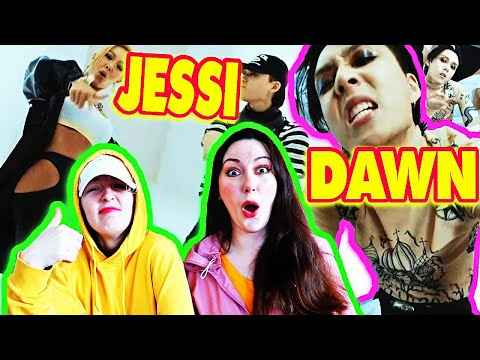 DAWN & Jessi REACTION - DAWNDIDIDAWN MV REACTION | 던 디리던 뮤비 리액션