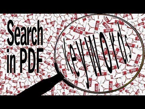 Can You Find It? How To Search Keywords In PDF Documents