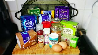 BAKING ESSENTIALS - INGREDIENTS