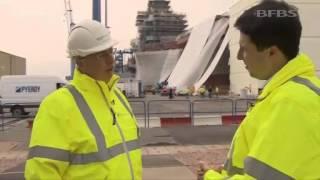 Behind the Scenes Tour of HMS Queen Elizabeth 30.04.14