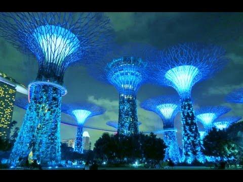 Garden By The Bay August 2014 hd] singapore gardensthe bay full show - garden rhapsody sg50