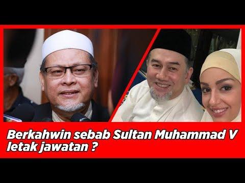 Berkahwin sebab Sultan Muhammad V letak jawatan Yang di-Pertuan Agong XV ? apa kata nik amar