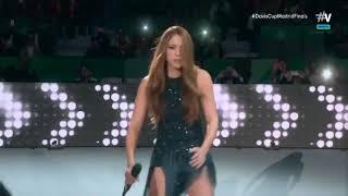 Shakira Live at Davis Cup Final (She Wolf, Tu Tu & La La La)
