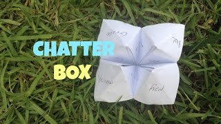 How To Make A Chatterbox