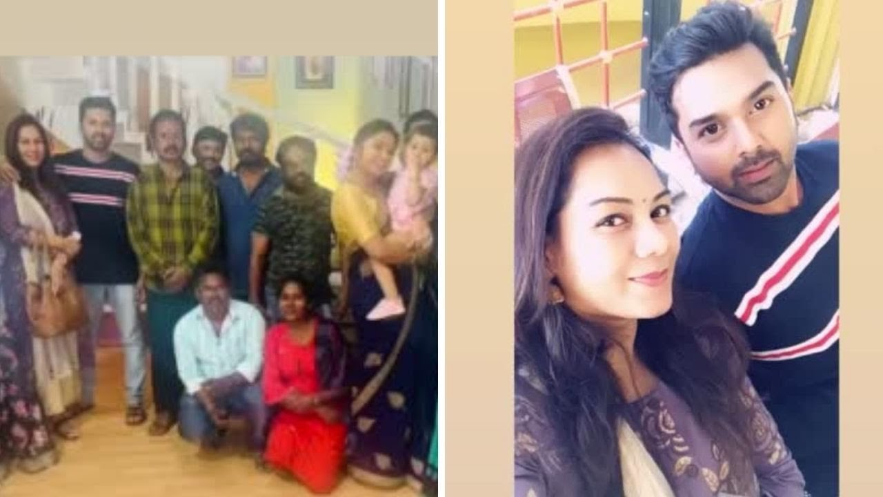 Download chithi2 Serial Kavin wedding Anniversary Celebration At Chithi2 Team |Chithi2 kavin real family