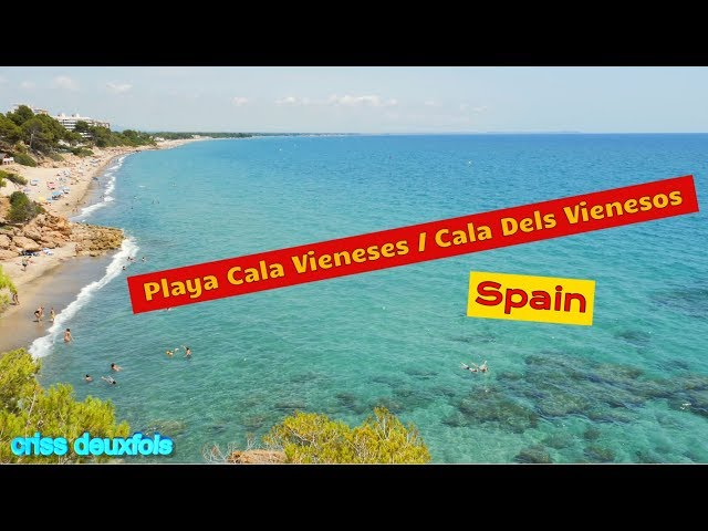 Cala De Los Vieneses Miami Platja Destimap Destinations On Map