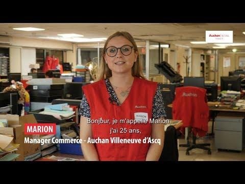 Marion Est Manager Commerce En Hypermarché Auchan