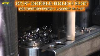 FMB -EXPLORER - Ø22 DOUBLE HOLES + SLOT