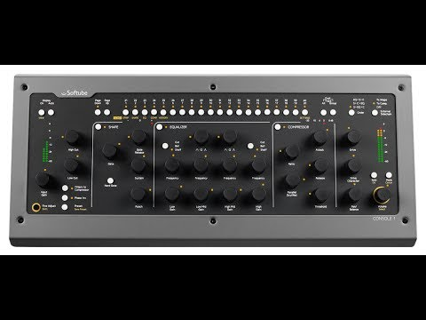 SOFTUBE - CONSOLE 1 - NAMM 2014 - TMNtv Product Demo