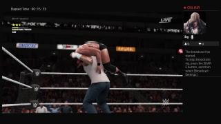 Antwain Golden vs Bobby Roodes WWE 2K18
