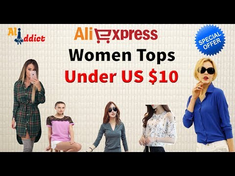 Best  Selling Top 10 Womens Blouses And Tops / Ali Ddict