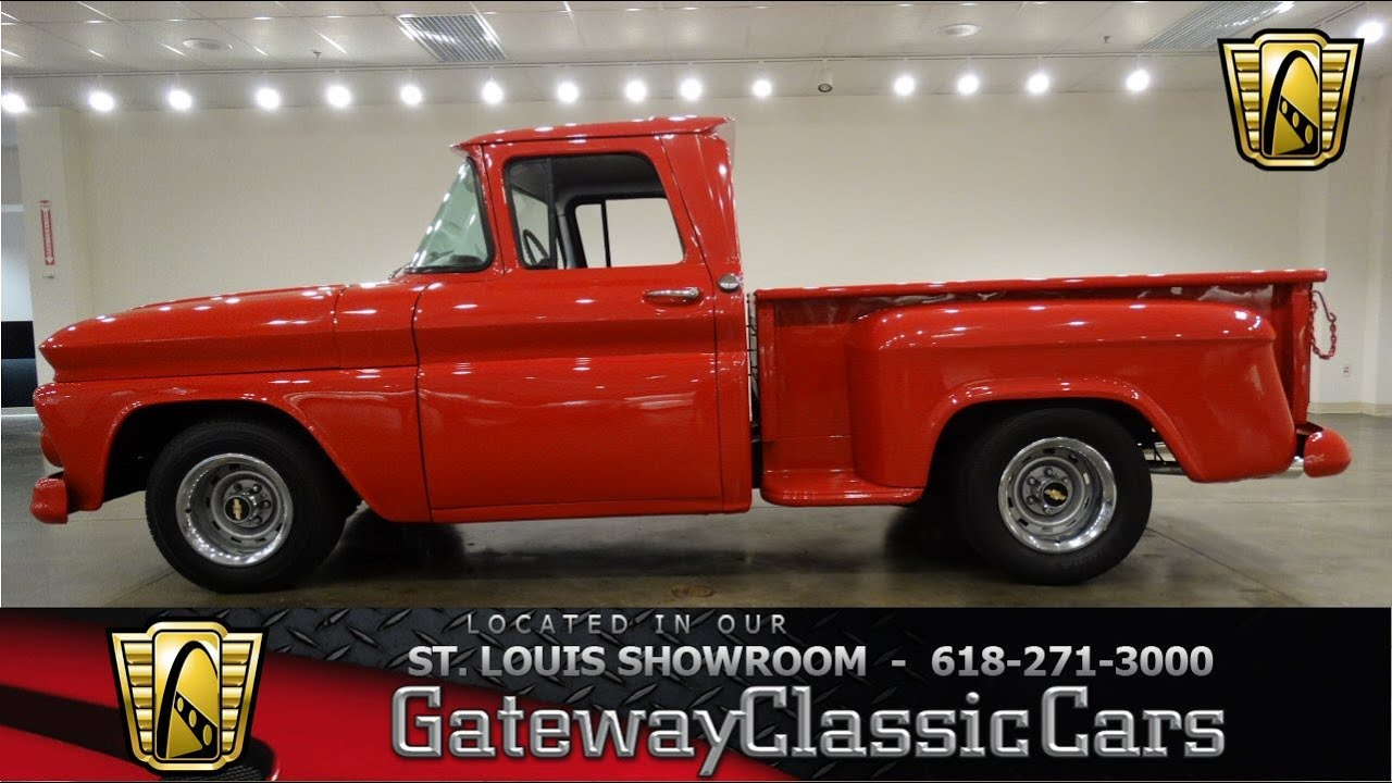 All Chevy 63 chevy c10 : 1963 Chevrolet C10 - Gateway Classic Cars St. Louis - #6570 - YouTube