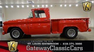 1963 Chevrolet C10 - Gateway Classic Cars St. Louis - #6570