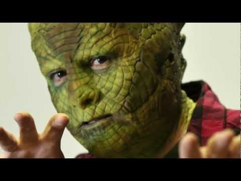 Silurian Prosthetics Demonstration - Doctor Who Experience - Wed 24th August 2011