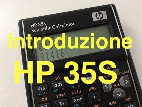 Calcolatrice HP 35S - Recensione e Tutorial