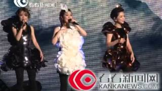 【独家现场】S.H.E上海演唱会开唱 深情演唱《远方》