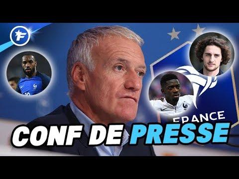 Lacazette, Sissoko, Dembélé, Rabiot : Didier Deschamps explique ses choix