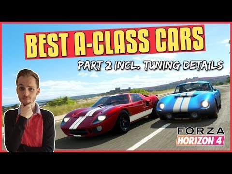 Forza Horizon 4   BEST A CLASS CARS #2 (Top Allround Ranked Adventure Tunes) thumbnail