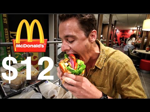 The $12 McDonald's Burger - YouTube