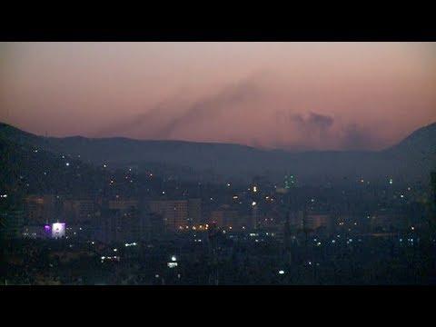 Военный удар по Сирии