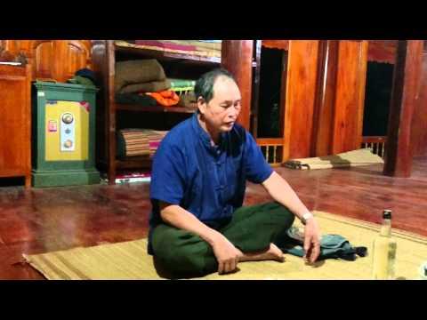 Học làm Thầy Mo dân tộc Thái Quan Sơn - Thanh Hóa