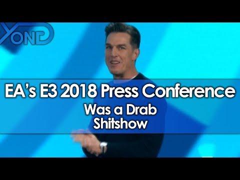 EA's E3 2018 Press Conference Was a Drab Shitshow