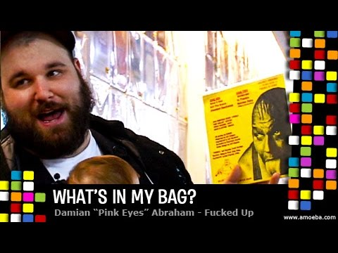 Damian Pink Eyes Abraham - What's In My Bag?