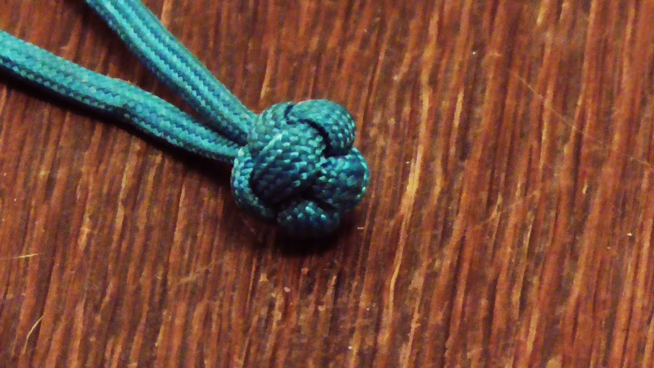 Learn How To Tie A Paracord Chinese Button Globe Knot | Doovi