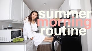 Summer Morning Routine | My New Apartment! :D