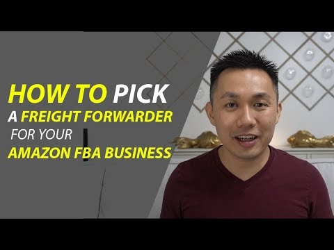 Episode 5: How to pick a freight forwarder for your Amazon FBA business