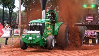 Pro Stock Tractors Shippensburg July 5 2019