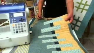 Patchwork Ao Vivo: o estilo modern quilt