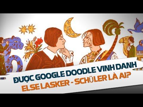 Else Lasker-Schüler - Người được Google Doodle vinh danh là ai?