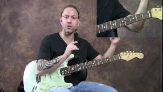 Steve Stine Guitar lesson - Learn How to Play Dust in the Wind Part 1