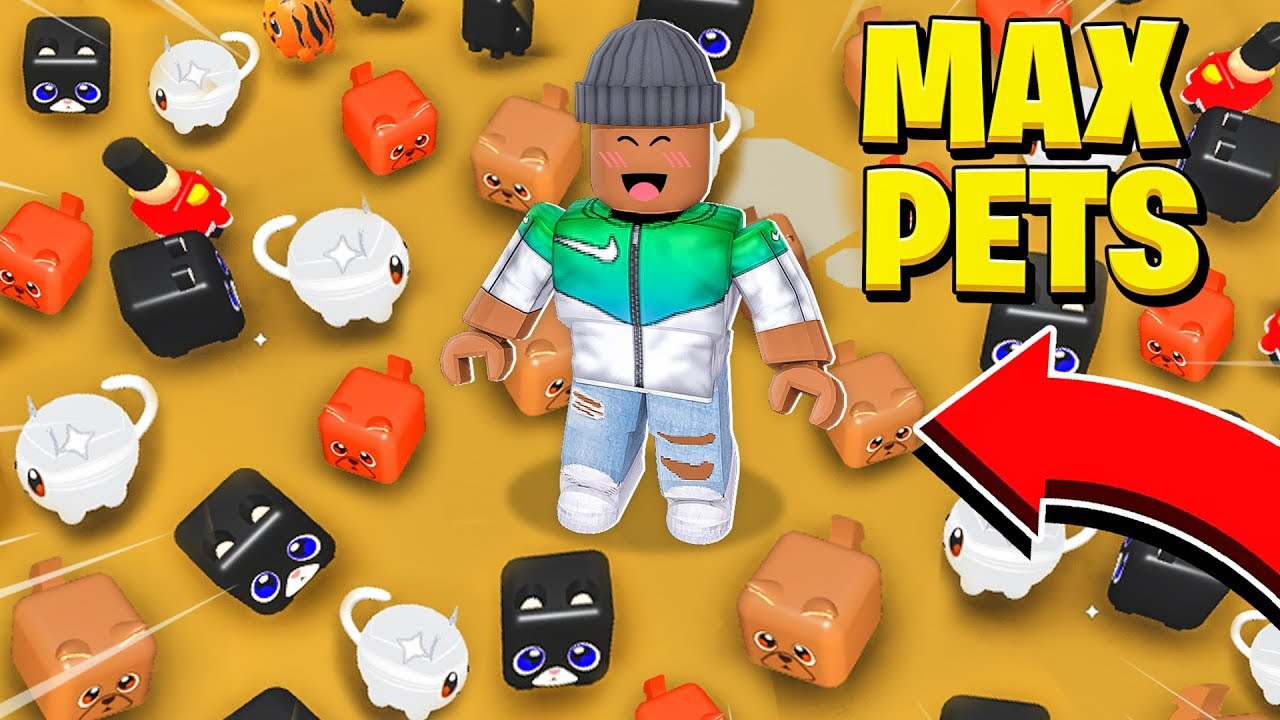 I spent $1,000,000 and got the MOST PETS in the WORLD.. (Roblox) thumbnail