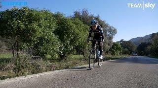 Team Sky preseason training day on Mallorca