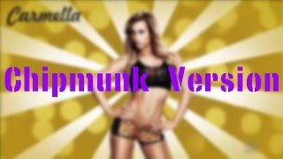 WWE NXT Carmella Theme Song - Fabulous (Chipmunk Version)