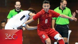 Futsal Việt Nam vất vả cầm hòa Malaysia