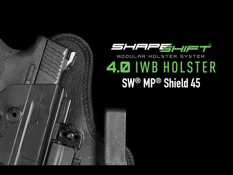 ShapeShift Shield 45 IWB Holster For Concealed Carry - Alien Gear Holsters